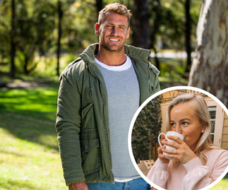 Bachelorette front-runner Frazer Neate has been spotted messaging another woman ahead of the finale