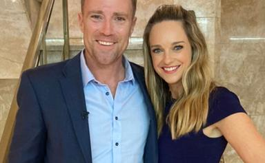 A closed set, multiple takes and A LOT of rehearsing! Penny McNamee & Ditch Davey reveal what it's really like filming those steamy scenes on Home & Away