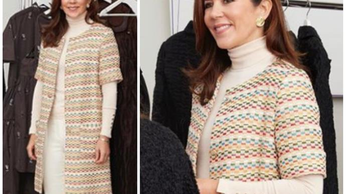 Crown Princess Mary exudes peak, royal style... as she presents the ultimate award for fashion