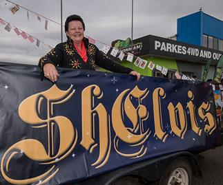 She's a trained nurse, a part-time Uber driver and... a female Elvis Presley impersonator: Inside Sheryl Scharkie's unique life