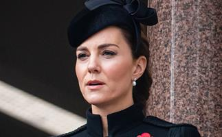 PICS: Harry, Meghan, Kate & Wills step out in force alongside the royals as they pay their respects for Remembrance Day
