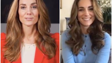 Duchess Catherine brings her outfit A-Game to her latest video call