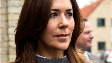 Crown Princess Mary breaks down in the middle of her latest appearance as she delivers a powerful speech