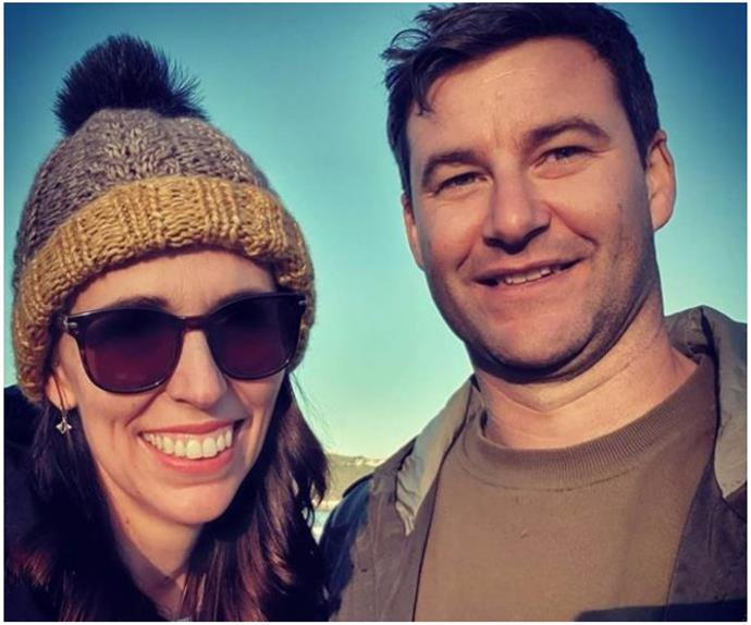 """Clarke Gayford admitting he's """"punching"""" with his fiancée Jacinda Ardern is a moment of purity that demands our immediate attention"""