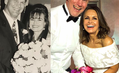 """Lisa Wilkinson reveals the Channel Nine star who played """"matchmaker"""" for her and husband Pete Fitzsimons as she reflects on 30 years of marriage"""