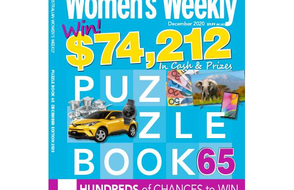 The Australian Women's Weekly Puzzle Book Issue 65