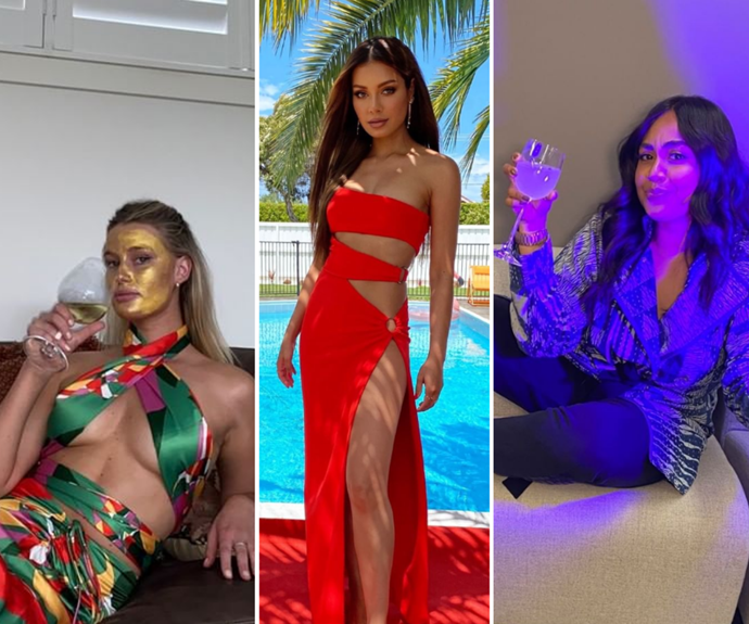 Roll out the red living-room rug! Your fave celebs are dressing up and down for the ARIA Awards' virtual red carpet