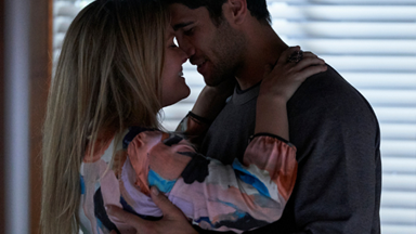 Home and Away gets steamy as Ziggy and Tane finally give into their feelings