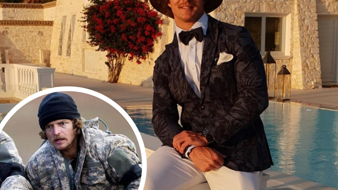 "Nick ""Honey Badger"" Cummins is unrecognisable as he reveals his shocking post-SAS Australia transformation"