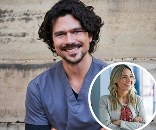 'I owe it to Sam': Home And Away newcomer Luke Arnold reveals how Sam Frost played a part in him joining the show