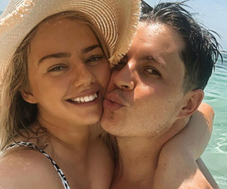 Johnny Ruffo's girlfriend Tahnee Sims shares sweet tribute following the news of his shock cancer return