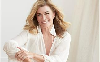 """""""I'm still smiling"""": Deborah Hutton reflects on life six months after her skin cancer surgery"""