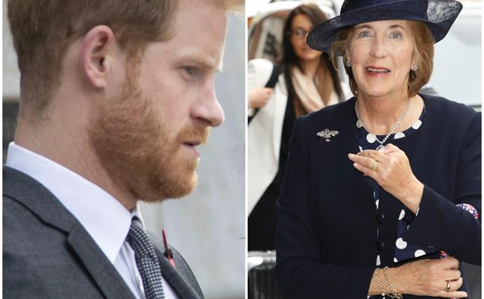 Prince Harry reacts to the sudden and heartbreaking death of his godmother