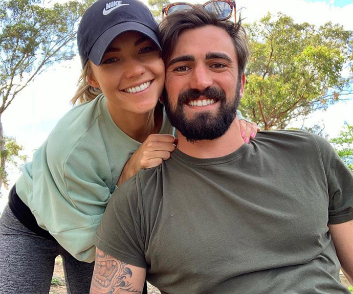 Are Sam Frost and ex Dave Bashford back together? We investigate the very telling clues