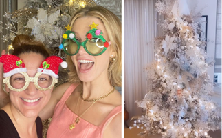 From bargain buys to bespoke designers: Your fave celebs are getting festive with their Christmas trees