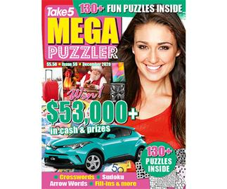 Take 5 Mega Puzzler Issue 59 Online Entry Coupon