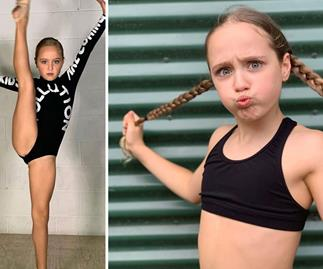 Born to perform! Ava Hewitt proves she's destined for a career in showbiz as she shares jaw-dropping new video
