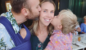 Fifi Box shares a sweet message to Morgan Gruell as she cherishes time with her two sons