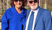 Home And Away star Lynne McGranger shares rare tribute to her long-term partner as they ring in a major milestone