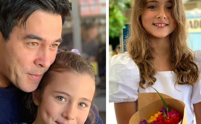 His little summer babe! James Stewart and daughter Scout's cutest moments