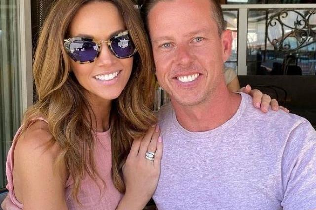 Are things over between Kyly Clarke and James Courtney already?