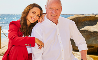 EXCLUSIVE: Home and Away's Georgie Parker and Ray Meagher share in their special bond playing father and daughter