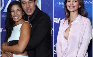 Dinner and a show is back on the menu - Aussie celebs scrub up for the red carpet on Frozen the Musical's opening night