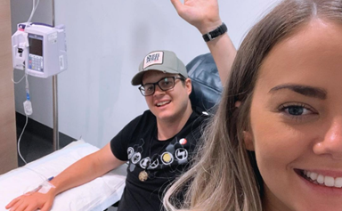Home And Away stars lead the charge sharing messages of support as Johnny Ruffo undergoes cancer treatment