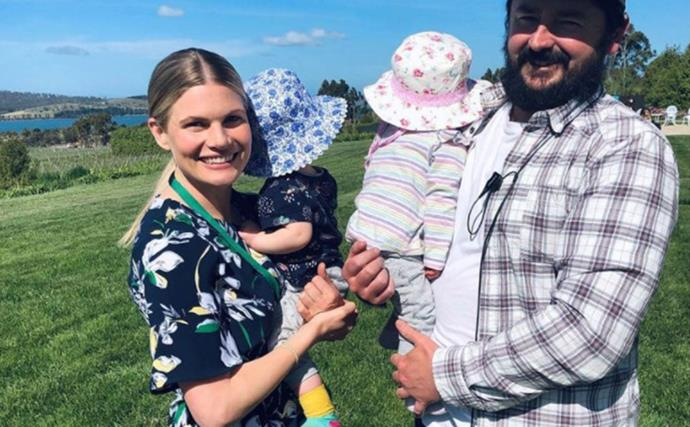 Double the cuteness! Former Home And Away actress Bonnie Sveen shares rare new photos of her twin daughters