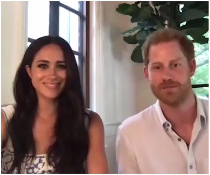 Prince Harry & Duchess Meghan have launched a podcast - and their first recorded interaction is iconic