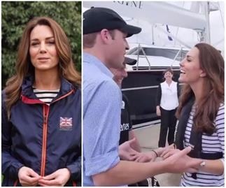 Duchess Catherine reminisces on a sweet sailing memory with Prince William in a surprise new video