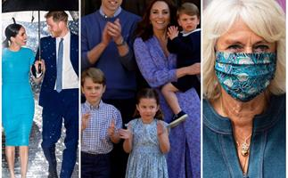 From surprise weddings to that iconic umbrella photo: These are the photos that defined the royal family in 2020