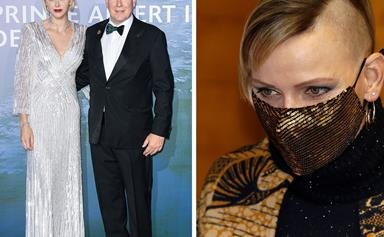 Queen of the transformation! Princess Charlene of Monaco debuts edgy new look