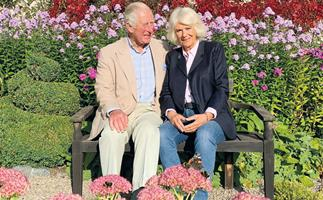NEW ROYAL PHOTO: Prince Charles and Duchess Camilla couldn't look more in love in their fabulously festive 2020 Christmas card