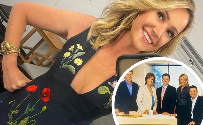 Leila McKinnon has shared a Today Show throwback featuring Karl Stefanovic and Tracy Grimshaw and the nostalgia is real