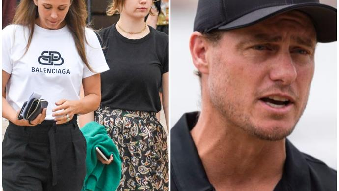 Is Lleyton Hewitt heading to the I'm A Celeb jungle? Tennis star is nowhere to be seen as Bec and her daughters set up their new life in Sydney