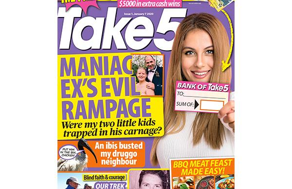 Take 5 Issue 1 Online Entry Coupon