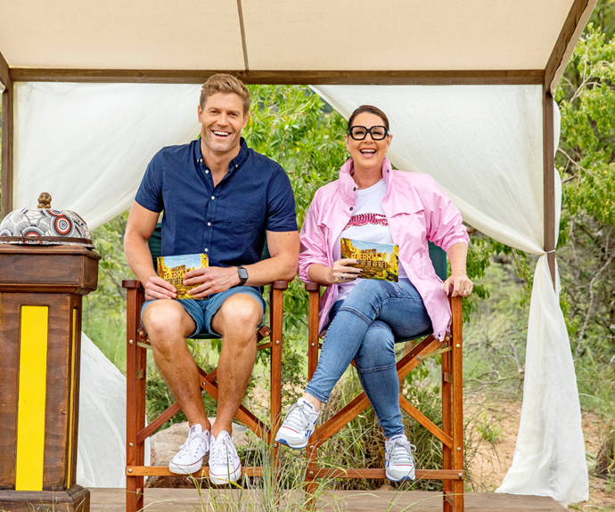 """EXCLUSIVE: """"I get very protective of him"""": Julia Morris spills on her friendship with I'm A Celeb co-host Dr Chris Brown"""