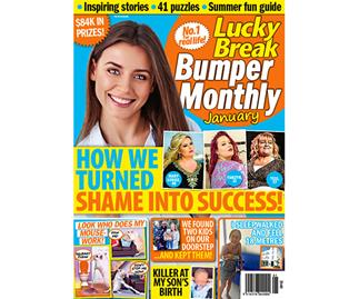 Lucky Break Bumper Monthly January Issue Online Entry