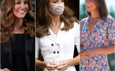From living room chic to a masked parade: Duchess Catherine's fashion took an unprecedented turn in 2020