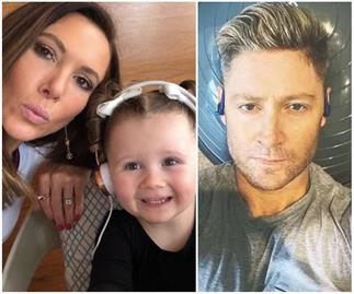 A year on from separating, Kyly & Michael Clarke are stepping things up with their daughter Kelsey Lee - for an interesting reason