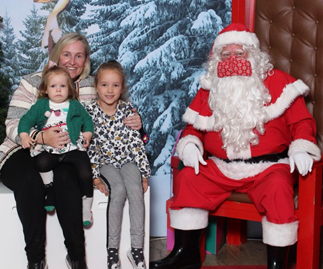 Fifi Box's hilarious Christmas snap with daughters Daisy and Trixie is the epitome of Santa photo struggles