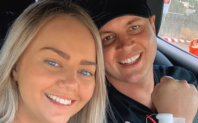 Johnny Ruffo's girlfriend Tahnee Sims pens powerful tribute to her partner as he commences chemotherapy for second bout of brain cancer
