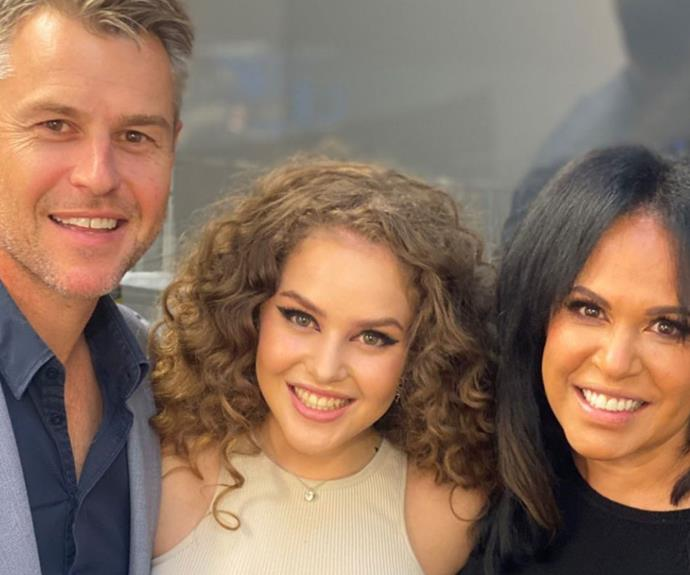 Zipporah Corser shares a rare new photo with her A-list parents Rodger Corser and Christine Anu - & it has fans doing a double-take