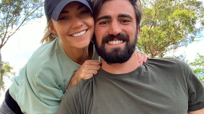 Sam Frost's holiday snaps have us all but convinced she's back together with ex Dave Bashford
