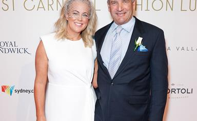 Ringing in the New Year as a Mrs! Samantha Armytage marries Richard Lavender in an intimate ceremony on the Southern Highlands