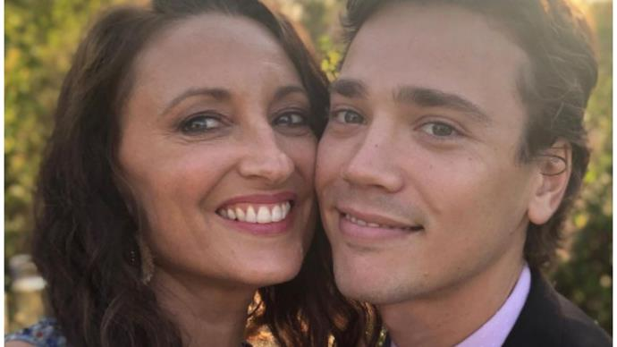 """""""I wish I could squeeze you"""": Home & Away's Georgie Parker shares a sweet tribute for fellow actor Lukas Radovich on his birthday"""