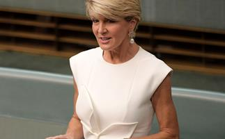 New year, new look! Julie Bishop's stunning new transformation proves she's still a total style icon