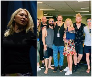 Kerri-Anne Kennerley shares an encouraging update with her fans after a terrifying accident that left her in hospital