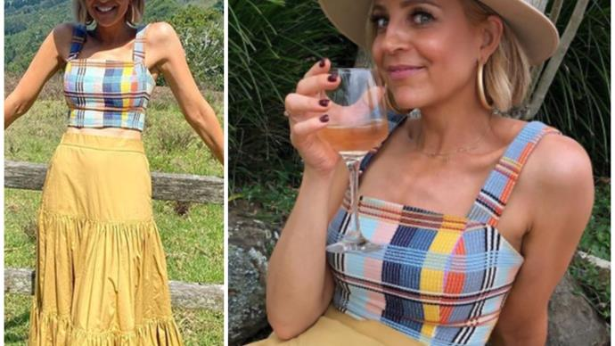 Carrie Bickmore's latest outfit pic sums up one of summer's biggest trends